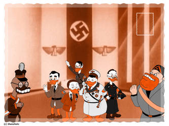 Nazi Ducks by Shenziholic
