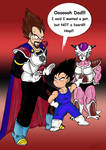The first meeting with Frieza