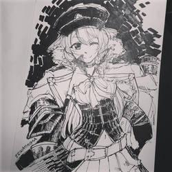 Lecia Sketch by rktsm
