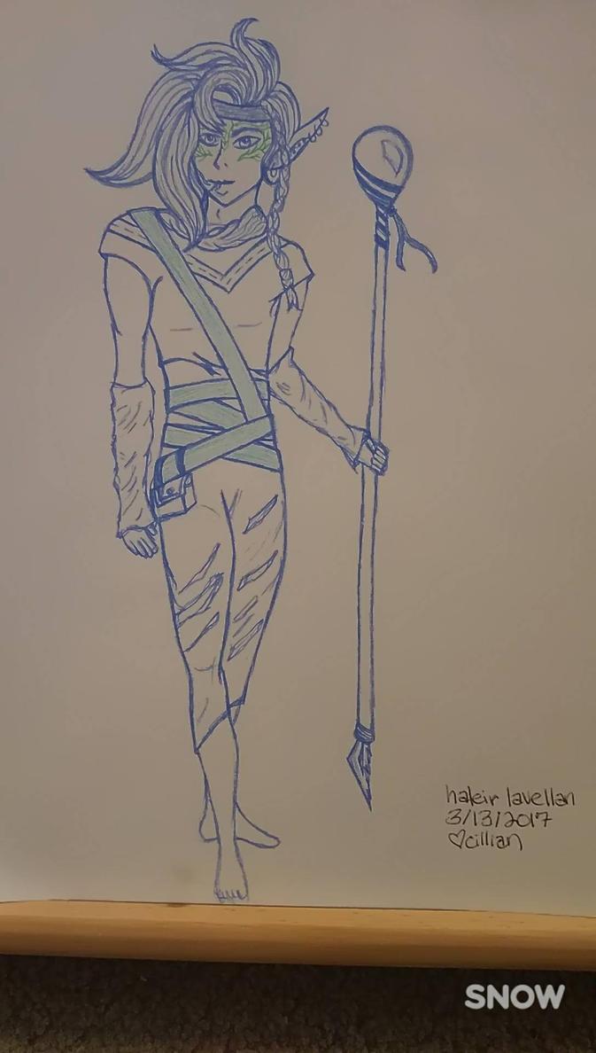 haleir lavellan (dragon age: inquisition oc) by cilliantrevelyan