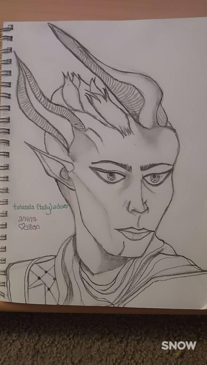 talasala adaar (dragon age: inquisition oc) by cilliantrevelyan