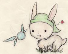 bunny link by ink099