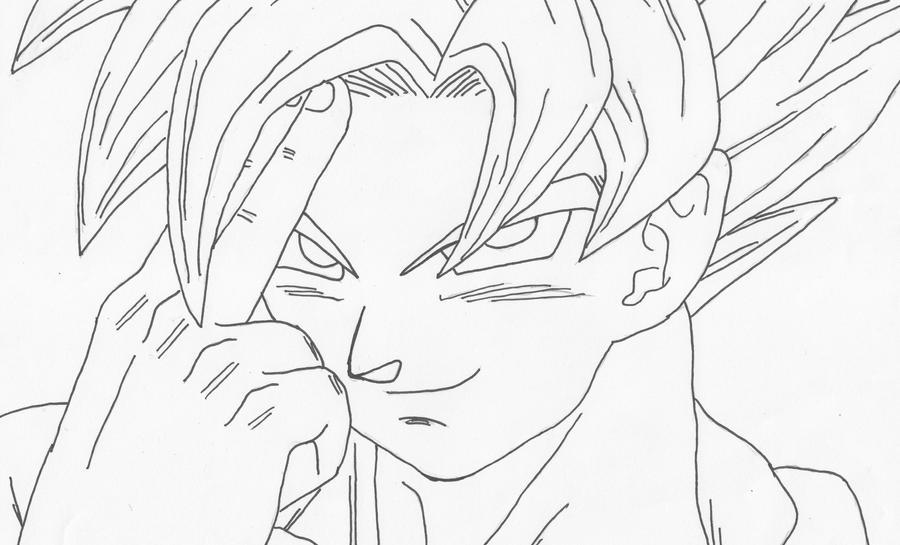 Imagenes Para Colorear Goku Fase 5 Biblioteca De: DBkai Goku Ssj By Pantheiros On DeviantArt