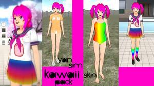 Yandere Simulator - Kawaii-Chan Skin Pack!!