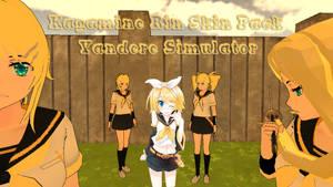 Kagamine Rin Skin Pack - Yandere Simulator