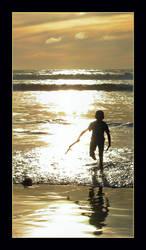 Sunset Run by MagdalenaTR