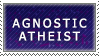 Agnostic Atheist Stamp by Powerfulgirl10