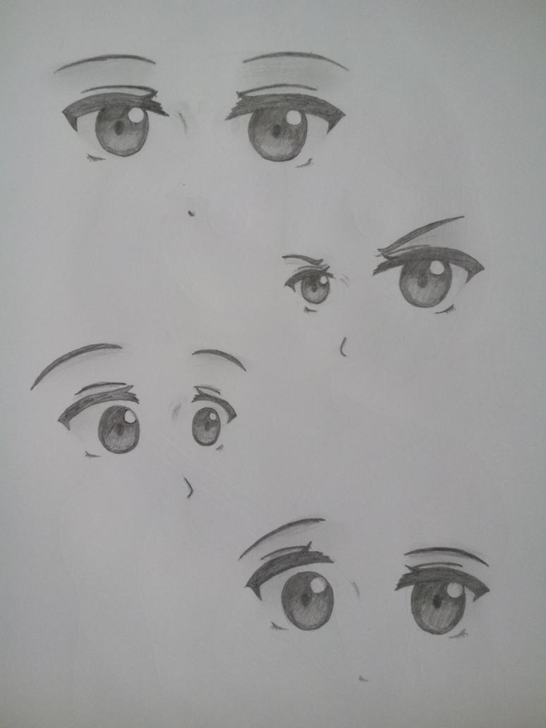 Her Eyes 1 by FarisuDesu