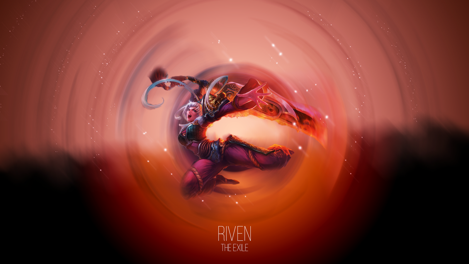 Dragonblade Riven Wallpaper By HotheadHoncho