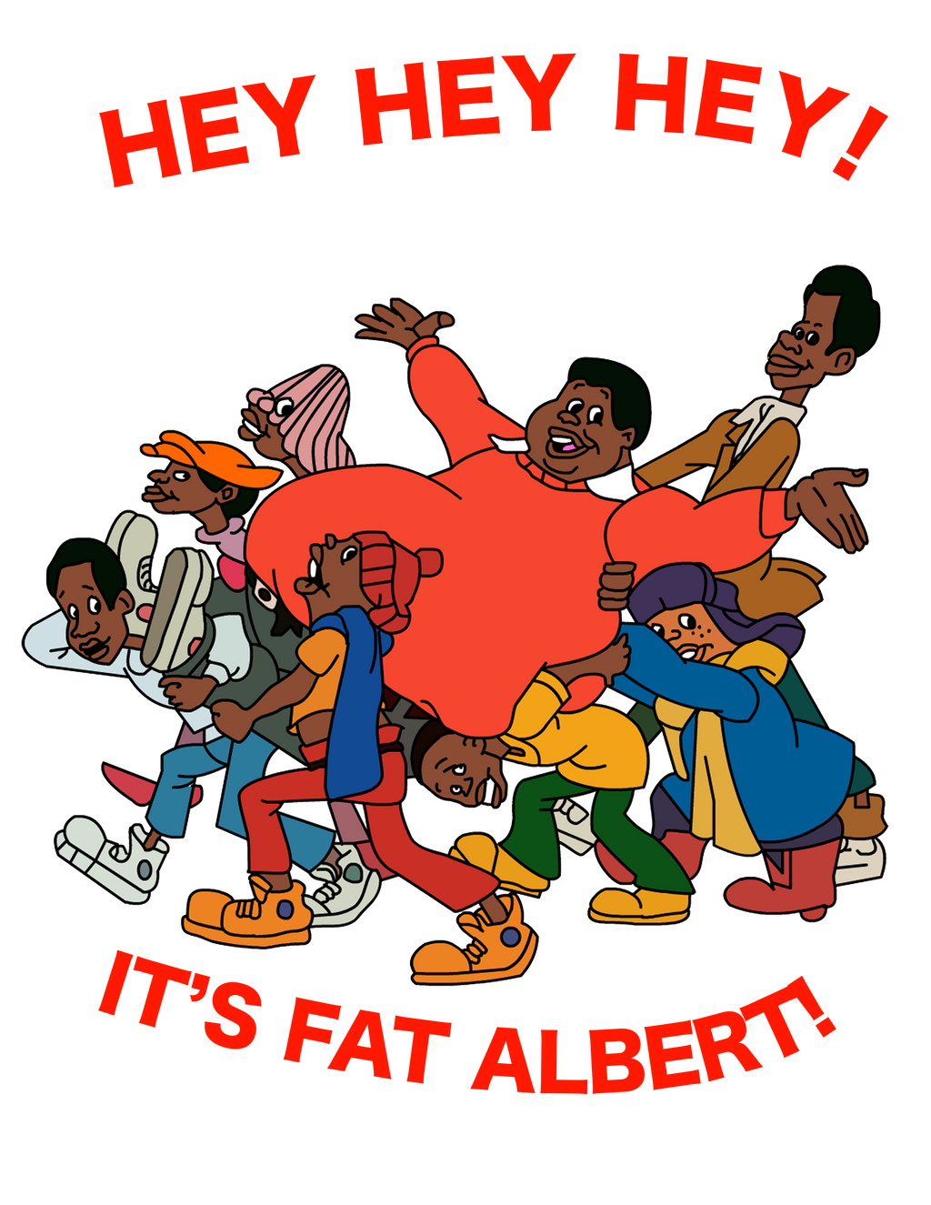 Fat Albert And The Cosby Kids Creativity