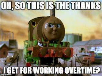 Percy Meme by RailToonBronyFan3751