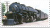 Norfolk and Western 1218 stamp by RailToonBronyFan3751