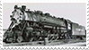 Southern Pacific GS-1 Stamp by RailToonBronyfan3751
