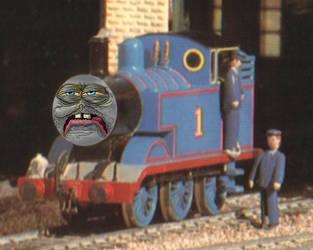 Drunk Thomas by RailToonBronyFan3751