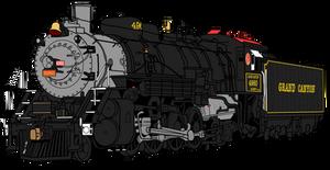 Grand Canyon Railway 4960