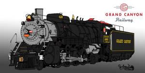Grand Canyon Railway 4960 (Wallpaper)