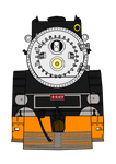 Southern Pacific 4449 Front View