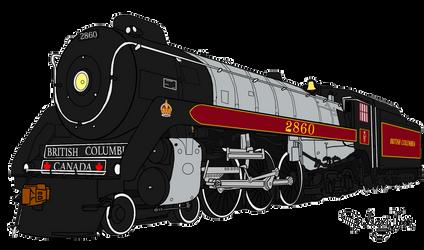 Canadian Pacific Royal Hudson 2860
