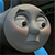 Thomas embarrassed