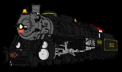 Frisco 1522 by RailToonBronyFan3751
