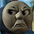 Glaring Thomas by RailToonBronyfan3751