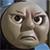 Thomas not amused by RailToonBronyfan3751