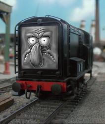 Unsure Diesel by RailToonBronyFan3751