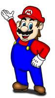 Mario by RailToonBronyFan3751