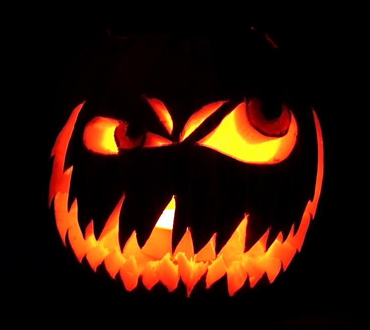 evil face pumpkin template - evil by earthberry on deviantart