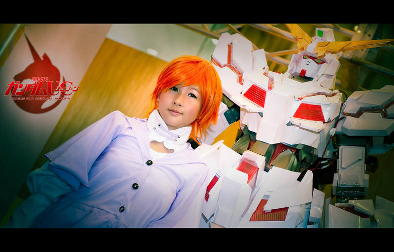 gundam unicorn... burne by liberifatalis