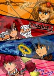 Sonic Boom (Human Style) by MindeyeEXteamy