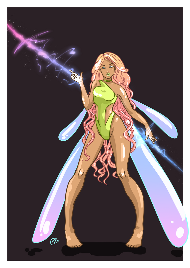 Fairy OC by Teopaca