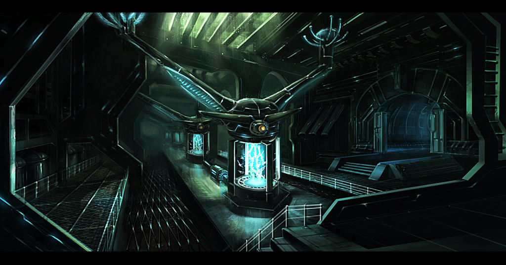 Generator room interior by gunsbins