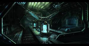 Generator room interior by gunsbins