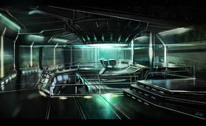 scifi office concept by gunsbins
