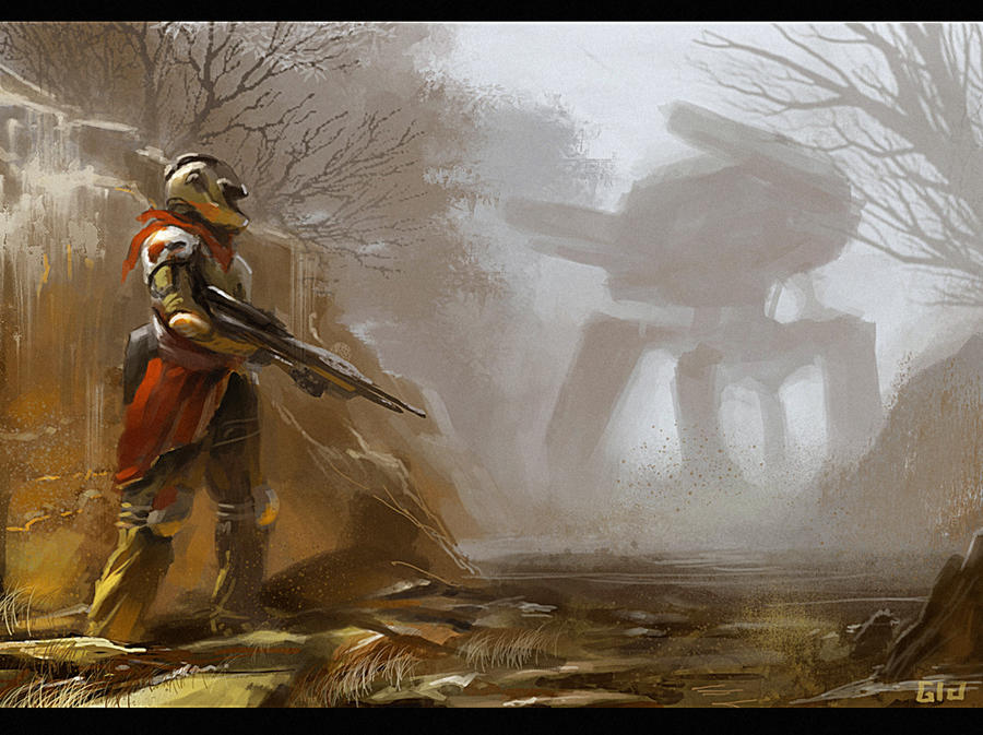 Hunter by gunsbins