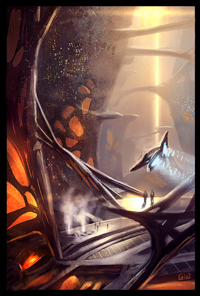 Bio-city by gunsbins