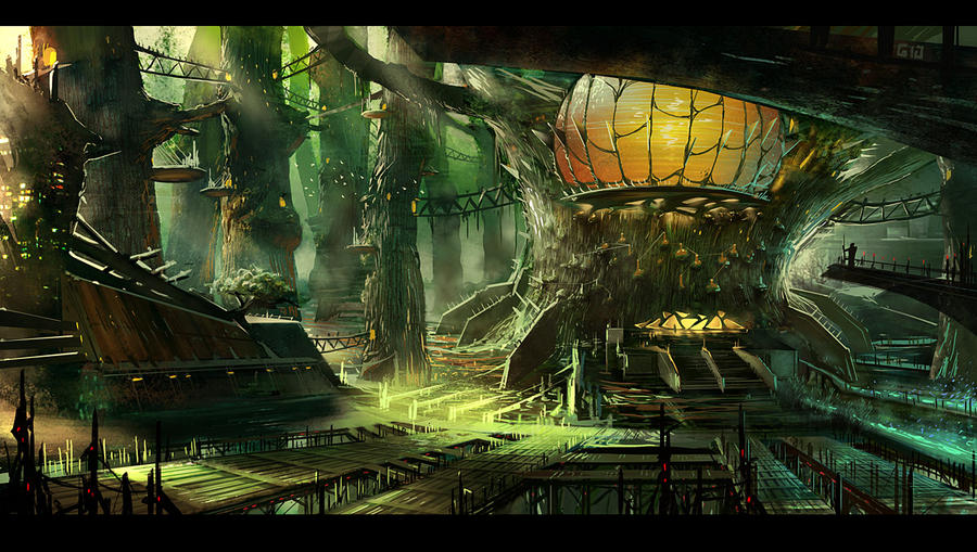 Tree house concept by gunsbins