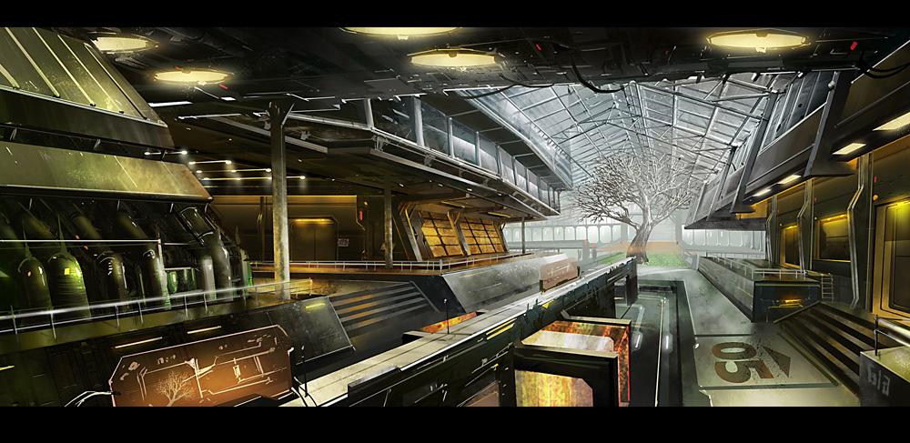 Glass house concept by gunsbins