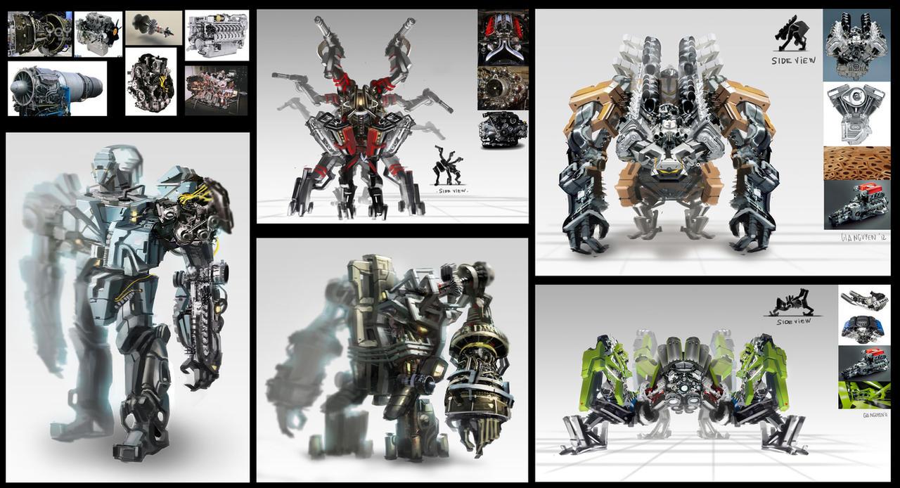 random robot by gunsbins