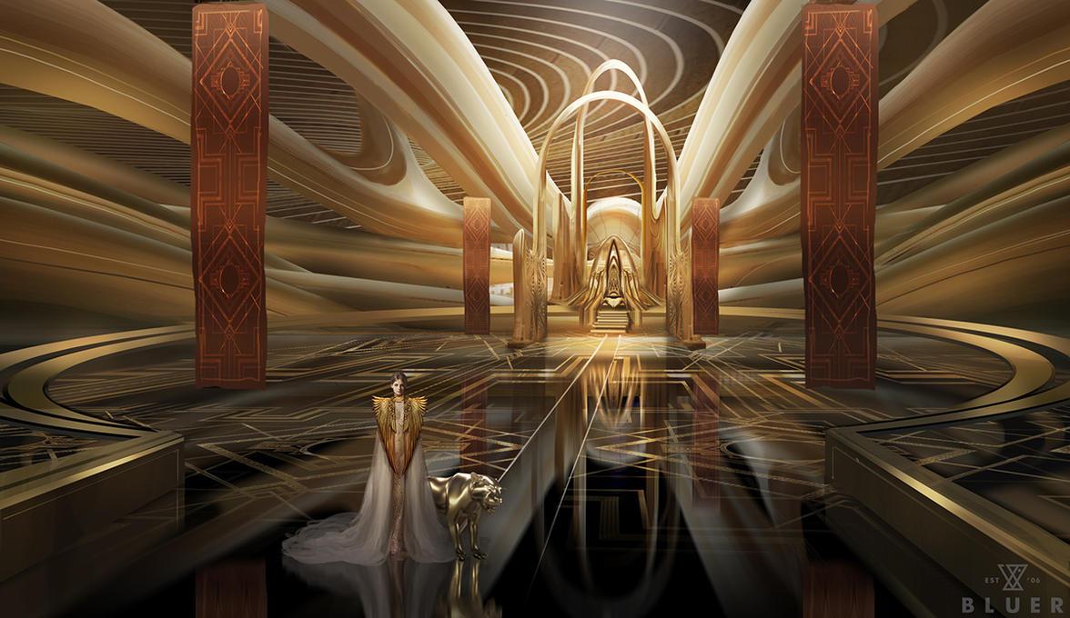 Charmant Palace Interior By Gunsbins/Gia Nguyen ...