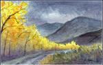 Bayhorse Trees by tuningmyheart