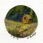 Little Barn - Quarter Sized by tuningmyheart