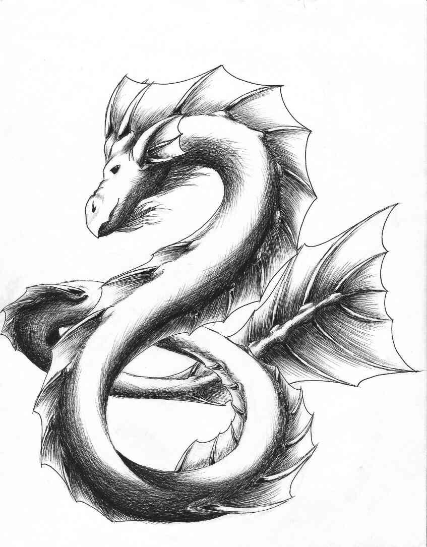 Sea Serpent by LavinaArrow on DeviantArt