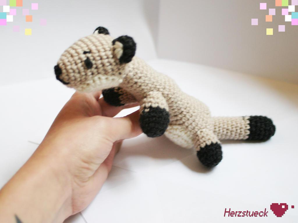 Amigurumi Forum Net : Ferret amigurumi by herzstueck handmade on deviantart