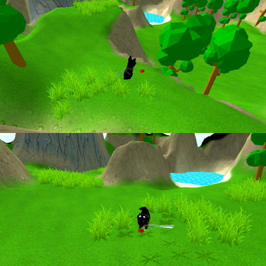 Ninja Chihuahua Game by desiangel1