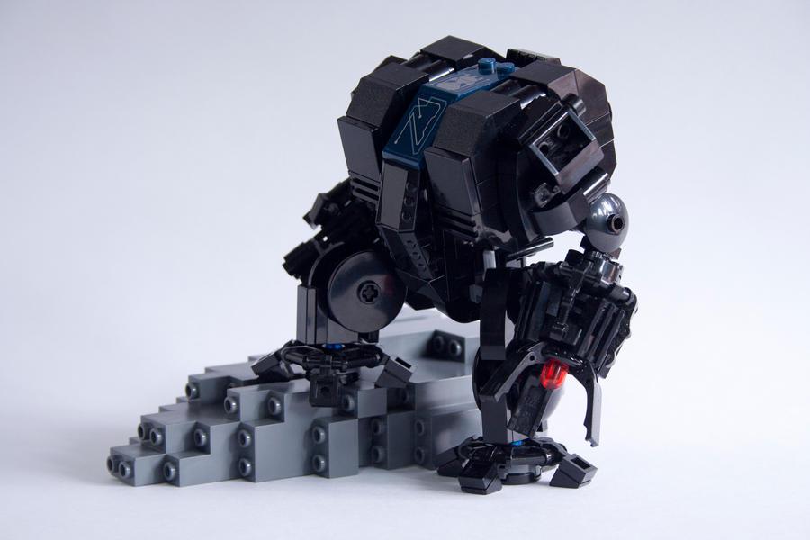 Dreadnought by JohnHo-TheLegoArt