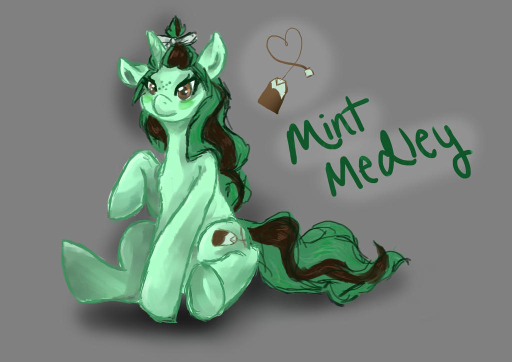 Mint Medly by WhirlyPopPony