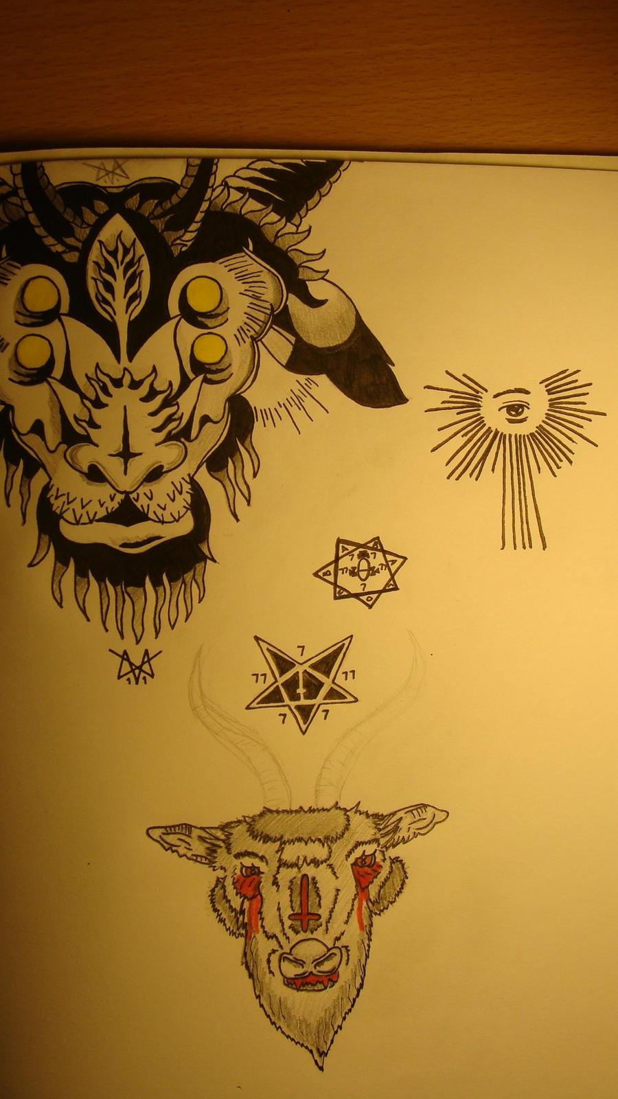 Occult tattoo ideas by VectrGrisham on DeviantArt