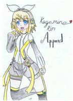 Vocaloid - Kagamine Rin Append by AmayamaRyoshi